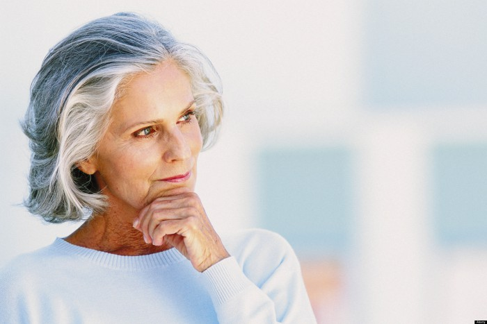 Ageing woman